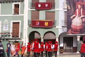 The Flag throwers from Tortosa