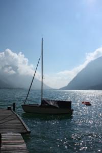 Beautiful lake in Pertisau