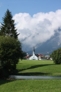 Church in the valley of Pertisau