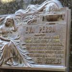 Eva Peron plaque