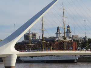 The port at Buenos Aires