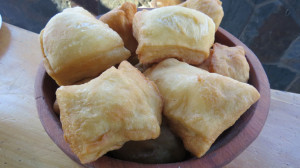 Chilean Fried Bread - very light and fluffy