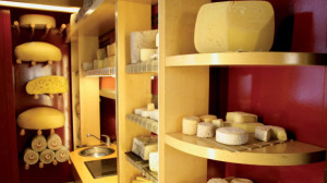 Palacio Duhau Cheese Room