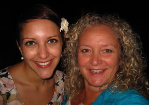 Vicki and daughter Kimberley