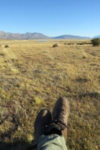 Relaxing at Eolo, Patagonia