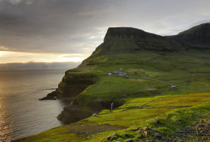 Stunning Faroe Islands coastline