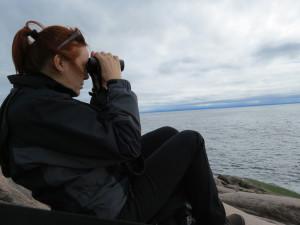 Binoculars come in handy