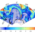 GIANT ATMOSPHERIC RIVERS ADD MASS TO ANTARCTICA'S ICE SHEET