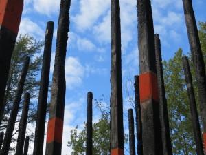 Art installation, Retford Gardens
