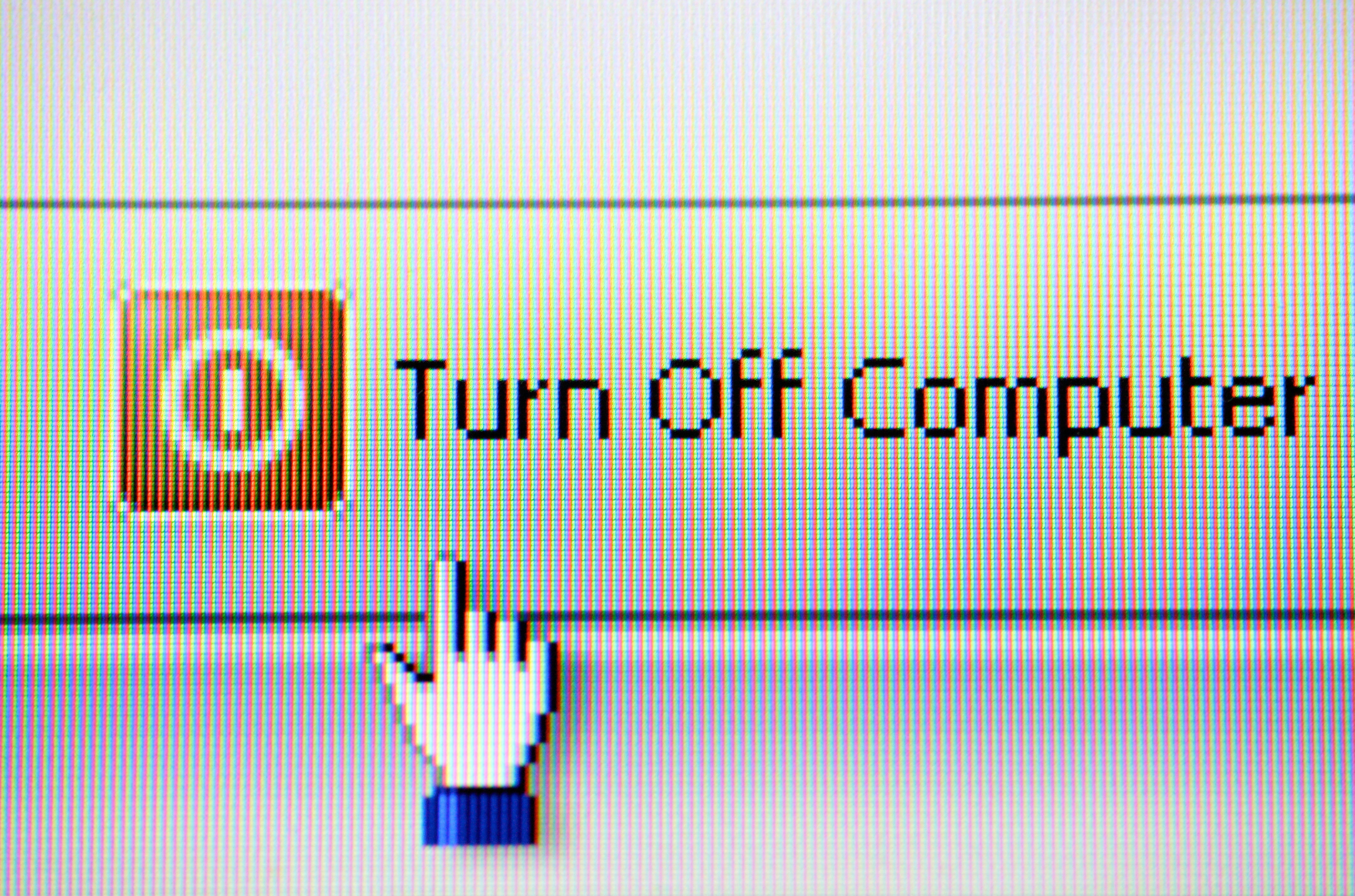Turn On Computer : Easy ways to go green passion for fresh ideas