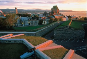La Citadelle et le Chateau Frontenac