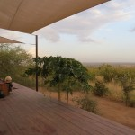 View from Ecoscience lodge, Tanzania