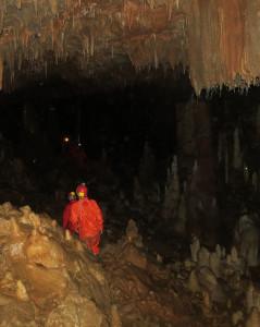 Cavern in Postojna