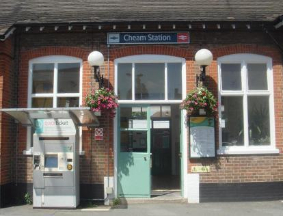 p-cheam-train-station
