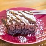 Sugary brownie