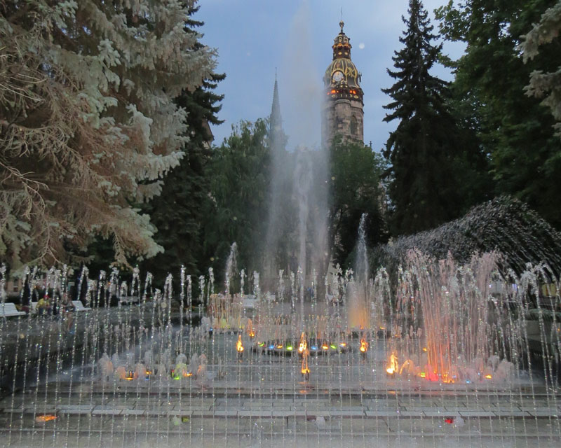 P-Musical Fountain Kosice