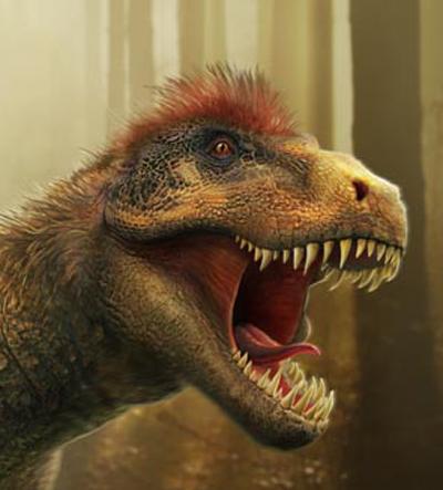 t rex headshot