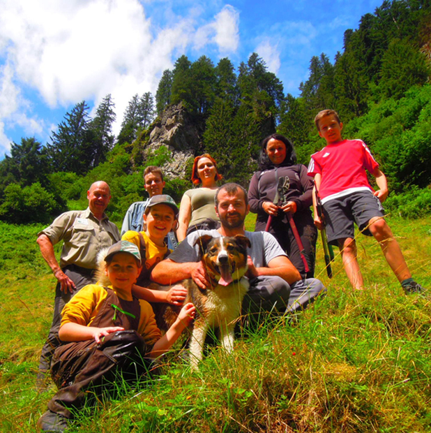 P-Austria-Volunteering Zillertal Nature Park-group