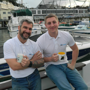 P-author-ARC cofounders James Doddrell and Tom Birbeck